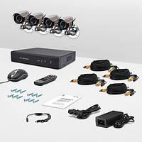 Система видеонаблюдения «установи сам» CnM Secure B44-4D0C KIT PRO