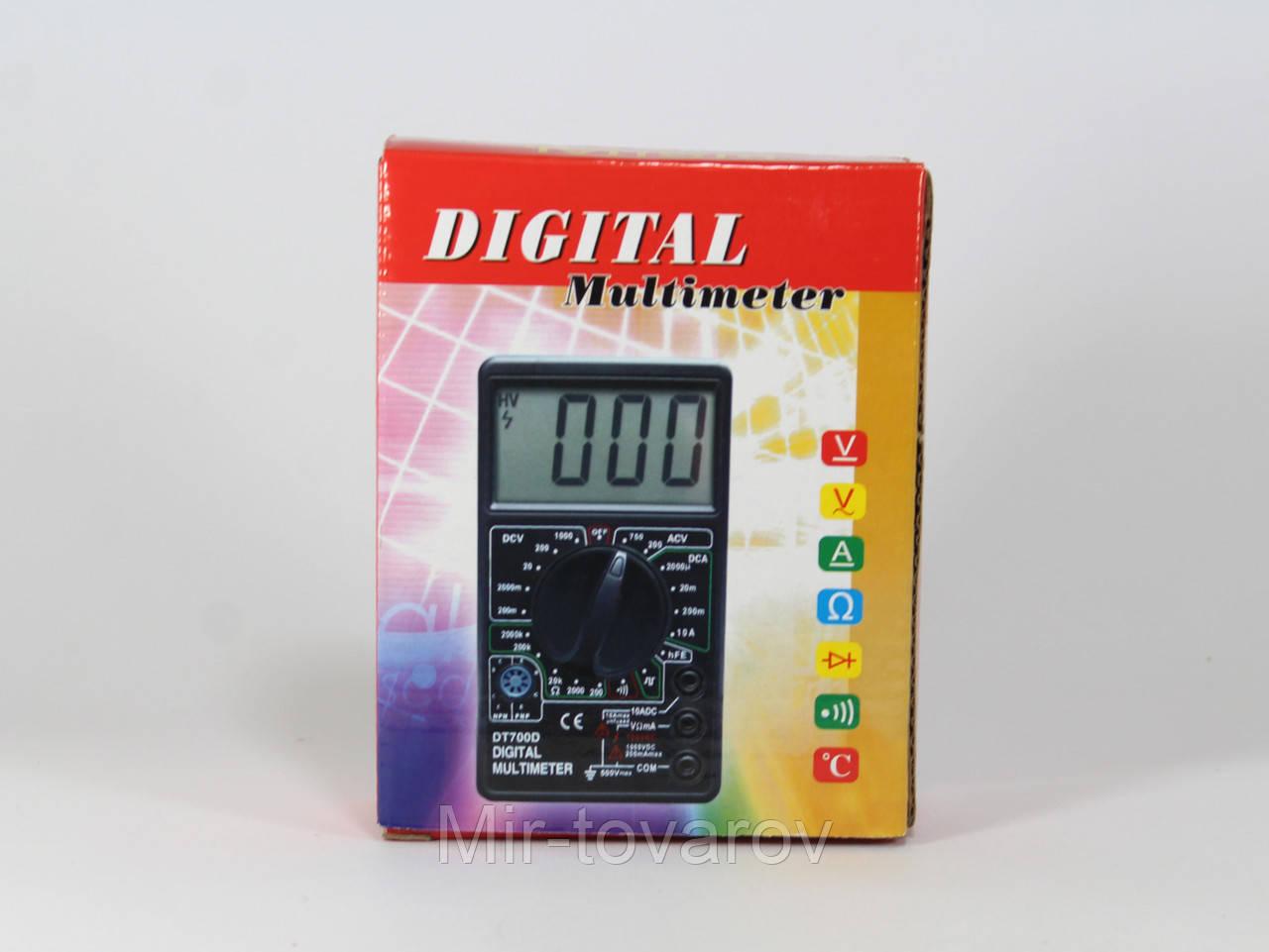 Мультиметр DT 700C  100