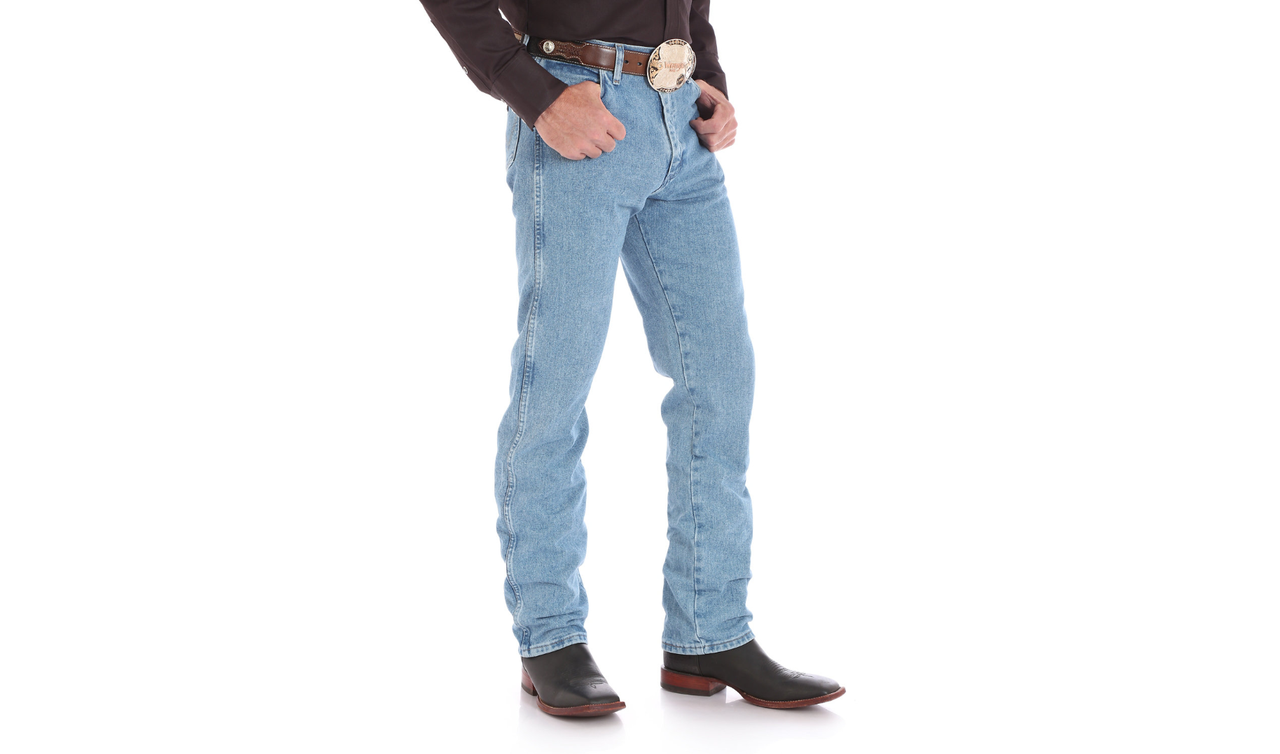 Джинсы Wrangler Cowboy Cut Original Fit, Antique Wash* Уценка