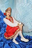 Карнавальный национальный костюм детский Русская красавица 1