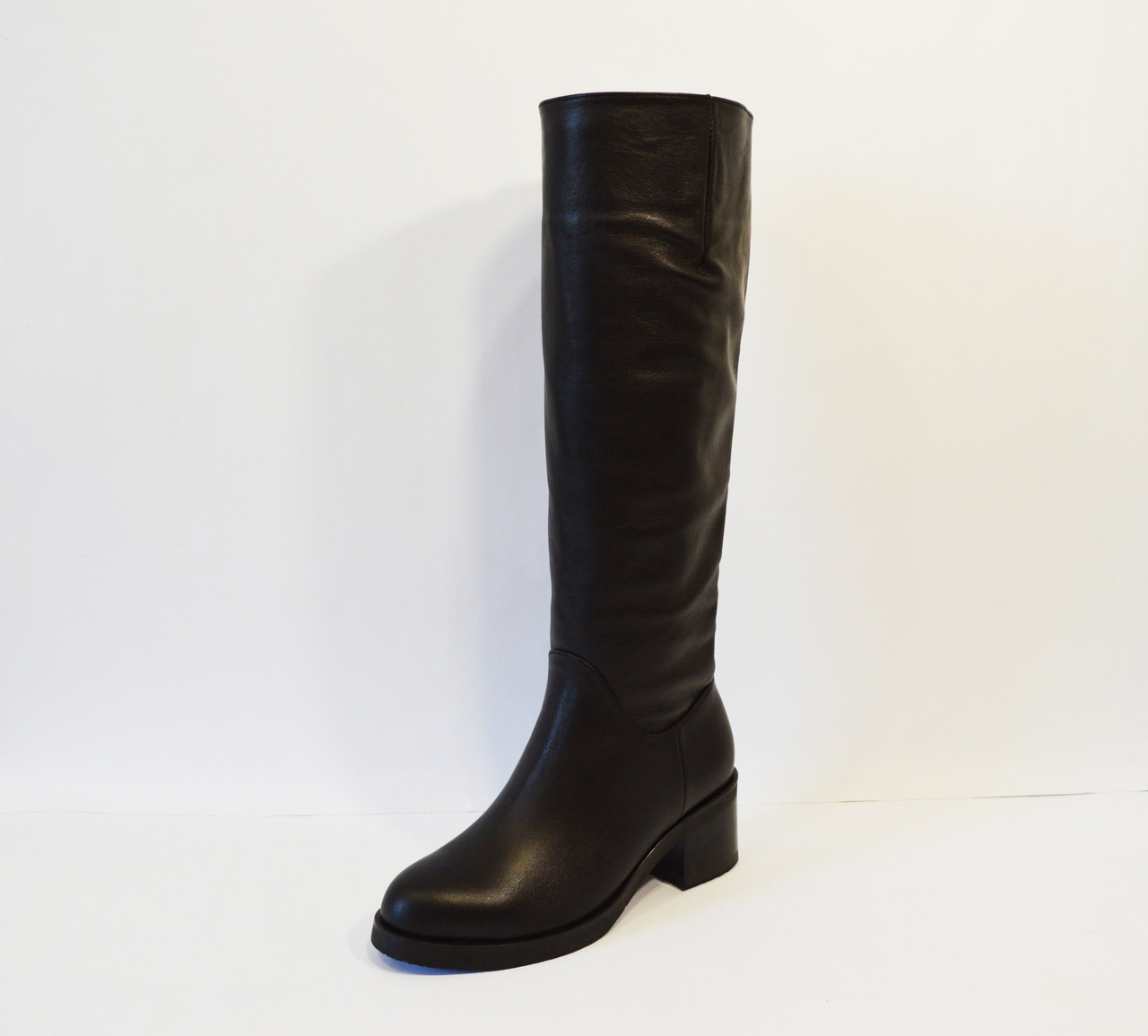 Сапоги женские кожаные Kluchini 3892