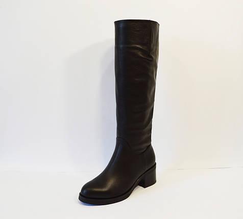 Сапоги женские кожаные Kluchini 3892, фото 2