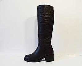 Сапоги женские кожаные Kluchini 3892, фото 3