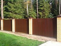 Забор с профнастила - 18