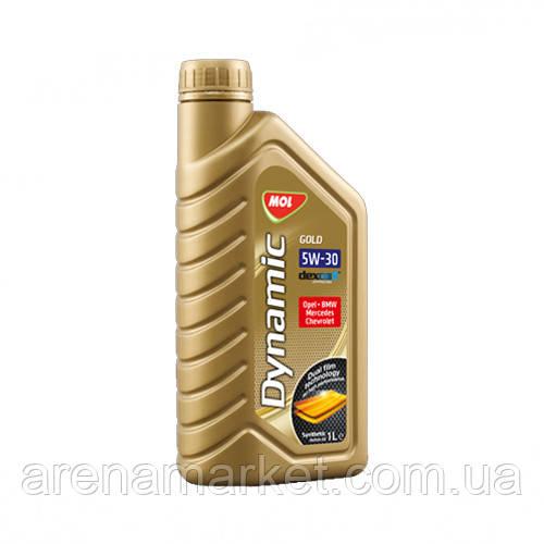 Синтетичне моторне масло MOL Dynamic Gold 5W30 - 1л