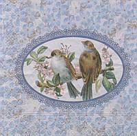 Редкие салфетки декупажные Пара птиц 7129