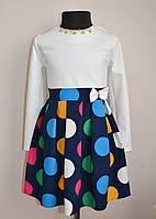 Платье для девочек детское нарядное 5-10лет