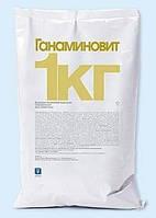 Ганаминовит 5 г водорастворимый поливитаминный препарат для цыплят, бройлеров, индюшат и поросят