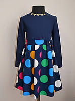 Нарядное детское платье для девочек 4-10 лет