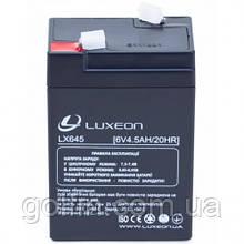 Аккумуляторная батарея AGM Luxeon LX645 6В 4,5АЧ