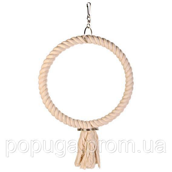Кольцо веревочное для попугая ○25