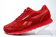 Женские кроссовки Reebok Classic Leather, Red/Красные