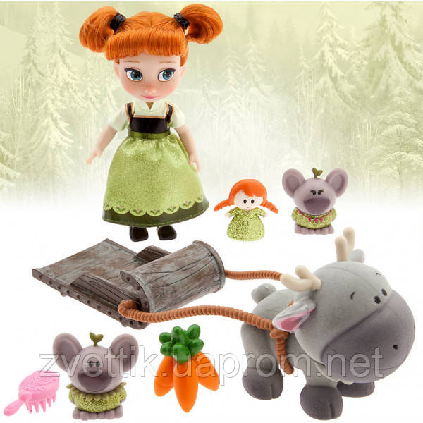 Набор кукла Disney Animators Collection AnnaMini Анна