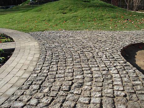 Колотая брусчатка Габбро, фото 2