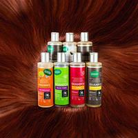 Органические шампуни Urtekram лечат волосы травами
