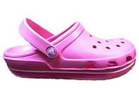 Женские Crocs Duet Sport Clog New Pure Pink (Реплика ААА+)
