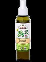 """Травяной настой для нормальных волос """"Крапива и репейное масло"""" Зеленая аптека, 150 мл."""