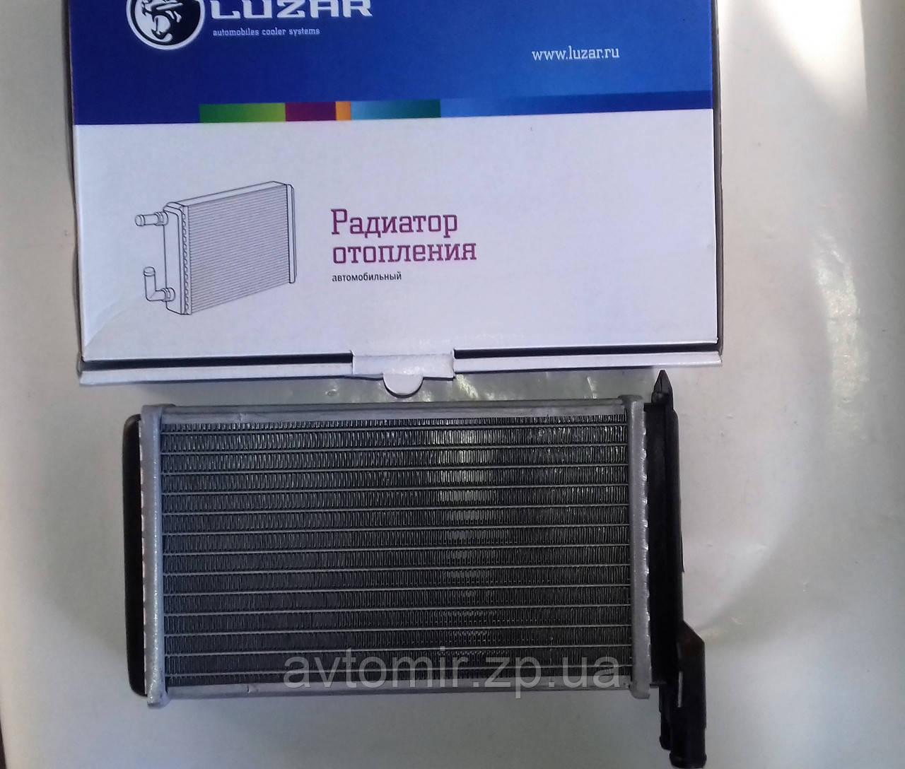 Радиатор отопителя (печки) алюминиевый ВАЗ 2108,2109,2113-2115Luzar Comfort LRh 0108b