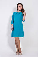 Женское платье  для беременных Cтелла  размеры 42, 44, 46, 48 голубое
