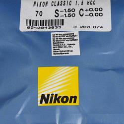 Линзы для очков Nikon Сlassik 1.5 HCC