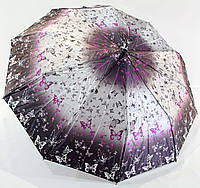 "Женский зонт полуавтомат сатин на 10 спиц от фирмы ""Bellissimo"""