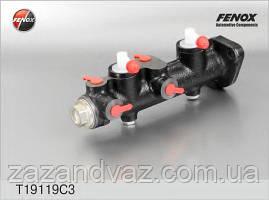 Головний гальмівний циліндр ГТЦ Таврія 1102 1103 Славута Fenox Білорусь з вакуумом T19119C3