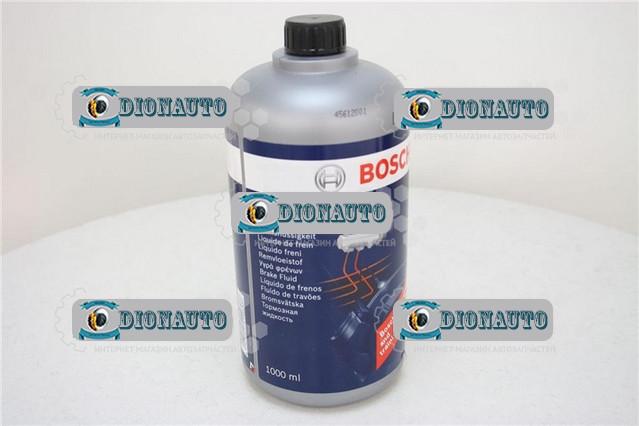 Тормозная жидкость ДОТ 4 BOSCH 1 л  (1 987 479 107)