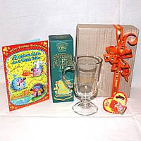 Подарок девушке на День Валентина - Чашка + Чай + Валентинка + открытка