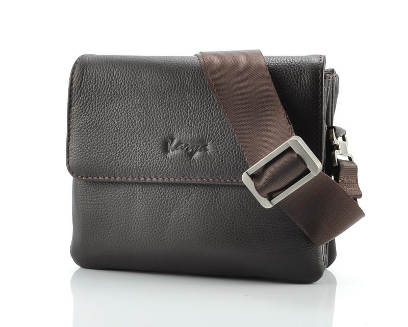 512a17274a5a Небольшая коричневая сумка Karya 0637-39 (Турция) - Portmoneshop.com.ua