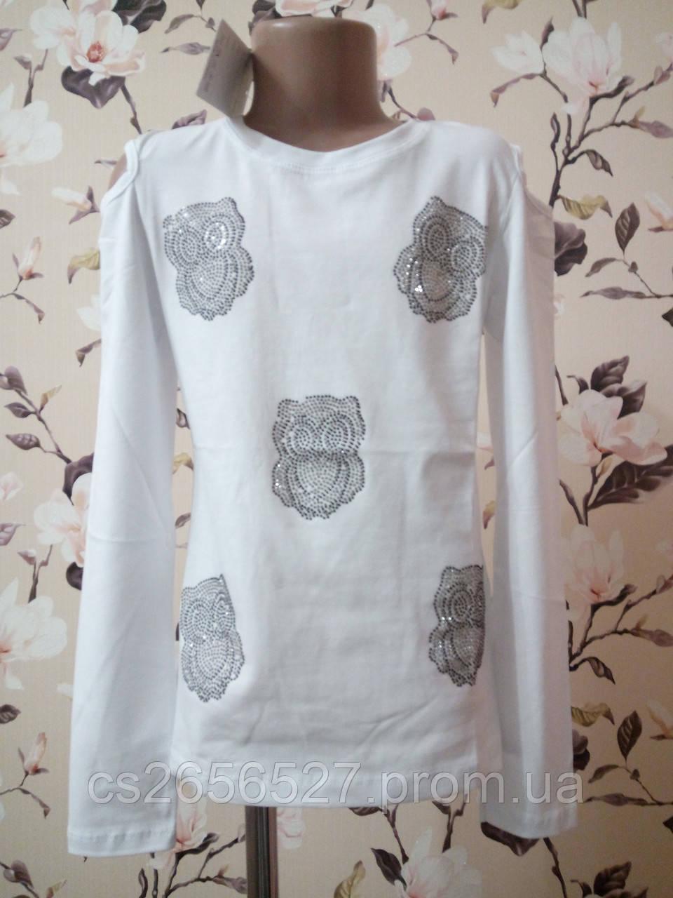 Детский реглан, блуза для девочки