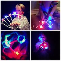 Светящийся детский конструктор Light Up Links 158 деталей