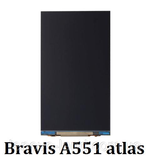 Дисплей, экран для Bravis A551 Atlas