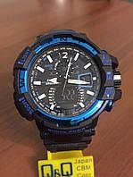 Часы Casio(Касио) G-Shock GA100 черные с синим