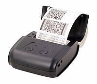 Bluetooth термопринтер, мобильный, POS,  чековый принтер XP-P200 QR 58мм