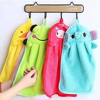 Детское полотенце из микрофибры для рук, для лица