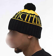 Молодежная теплая шапка Ястреб