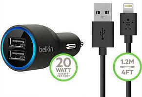 Автомобильное зарядное устройство BELKIN с двумя USB-портами на 4,2 А