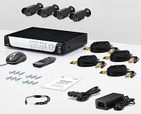 Комплект видеонаблюдения «установи сам» CnM Secure M44-4D0C KIT