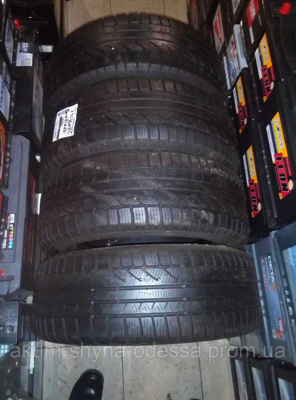 Шины зимние б/у 235/60 R16 Continental комплект 6+мм