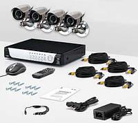 Комплект видеонаблюдения «установи сам» CnM Secure M44-4D0C KIT PRO