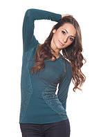 Трикотажный женский пуловер (S-L в расцветках), фото 1