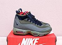 Зимние кроссовки Nike Air Max Sneakerboot 95 khaki. Топ Качество! Живое фото!