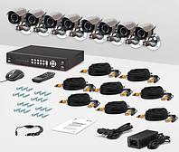 Система видеонаблюдения «установи сам» CnM Secure S81-2D6C KIT PRO
