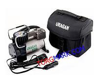 Автомобільний компресор URAGAN 37 л/хв 12 вольт (функція автостопу)