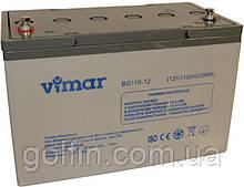 Аккумуляторная батарея  Vimar BG110-12 110АЧ