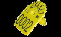 Бирка ушная с номером MS TAG арка для маркировки свиней, овец и коз