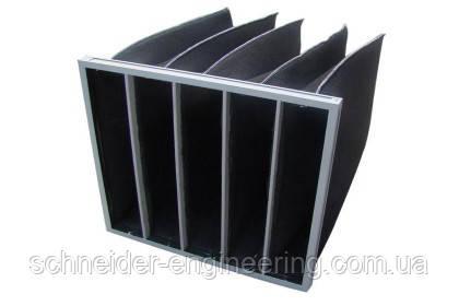 Карманные угольные фильтры G3, G4, F5, F7,F8, F9 компании SCHNEIDER-ENGINEERING