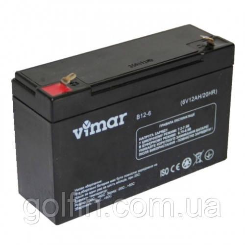 Аккумуляторная батарея AGM Vimar B12-6 12АЧ