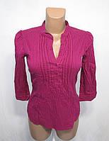 Блузка H&M, 38, темно малиновая, Как Новая!
