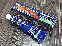 Жидкая кожа Saphir Creme Renovatrice 25 мл цвет морская волна (904)